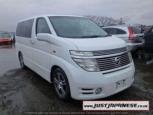 2004 NISSAN ELGRAND E51 3.5i V6 Auto Dayvan HIGHWAY STAR 2wd For Sale