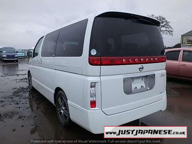 2004 NISSAN ELGRAND E51 3.5i V6 Auto Dayvan HIGHWAY STAR 2wd For Sale (picture 2 of 6)