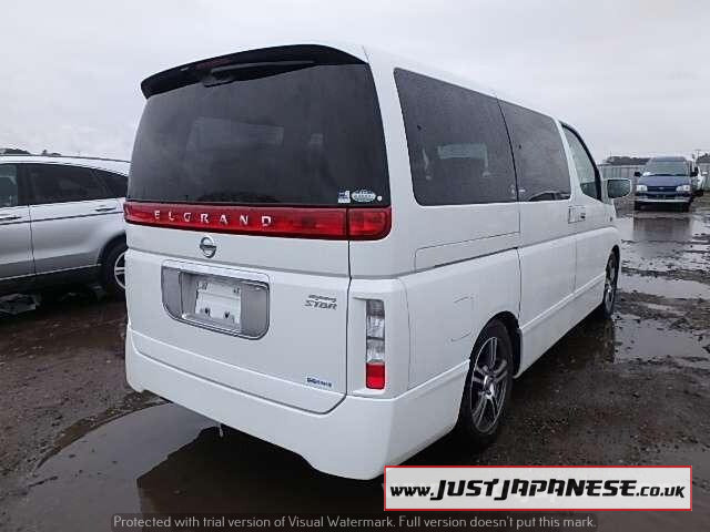 2004 NISSAN ELGRAND E51 3.5i V6 Auto Dayvan HIGHWAY STAR 2wd For Sale (picture 6 of 6)