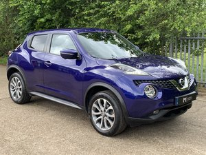 Nissan Juke 1.6 Tekna Xtronic CVT 2016 - Sat Nav +360 Camera For Sale