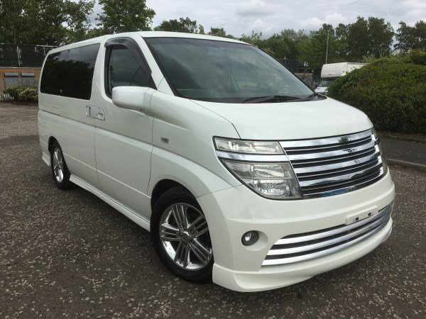 2004 FRESH IMPORT NISSAN ELGRAND RIDER AUTO 3.5 8 SEATS For Sale (picture 1 of 6)