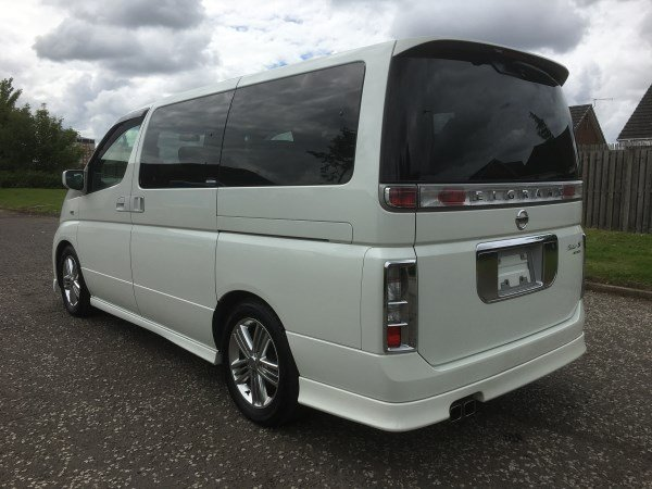 2004 FRESH IMPORT NISSAN ELGRAND RIDER AUTO 3.5 8 SEATS For Sale (picture 2 of 6)