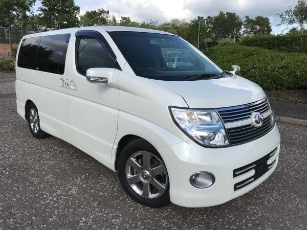 2008 FRESH IMPORT NISSAN ELGRAND HIGHWAY STAR 4WD AUTO 3.5  For Sale (picture 1 of 6)