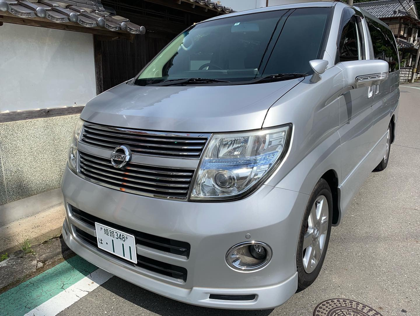 2008 Stunning Nissan Elgrand Highway Star Black Leather Edition SOLD (picture 3 of 6)