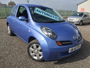 2004/54 Nissan Micra 1.2 'SE' Automatic SOLD