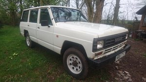 1990 Rare Nissan Patrol  SD33 Manual160 series diesel   For Sale