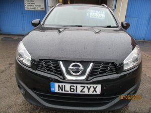 2011 61 QASHQAI 1600cc DIESEL TURBO 130BHP 6 SPEED MANAUL SMART For Sale