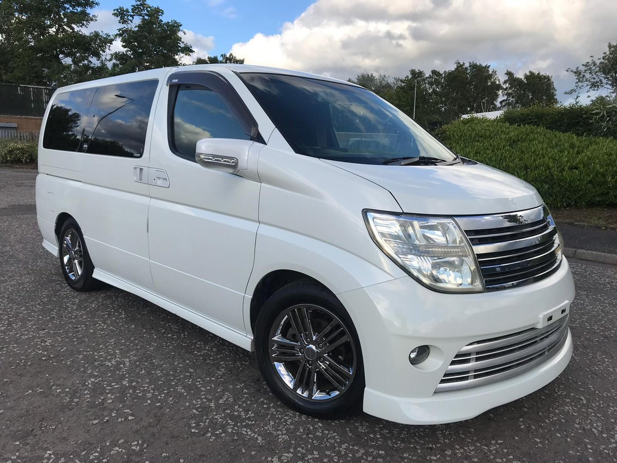 2006 FRESH IMPORT NISSAN ELGRAND RIDER 4WD AUTO 3.5 8 SEATS  For Sale (picture 1 of 6)