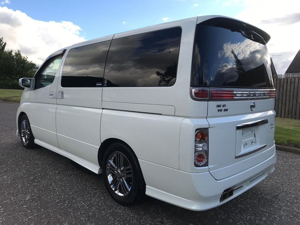 2006 FRESH IMPORT NISSAN ELGRAND RIDER 4WD AUTO 3.5 8 SEATS  For Sale (picture 2 of 6)