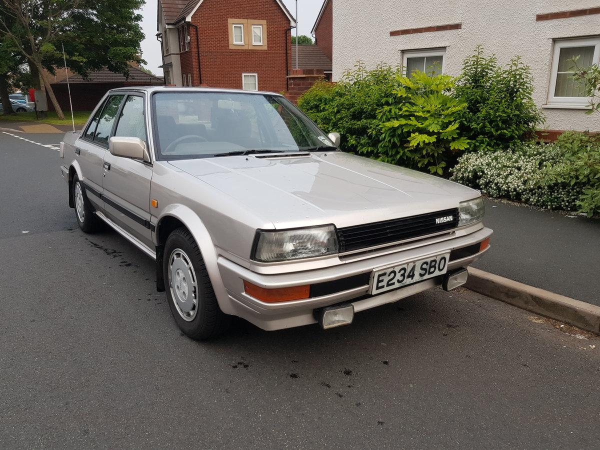 1998 1988 Nissan Bluebird 2.0 Gsx Saloon For Sale (picture 1 of 6)