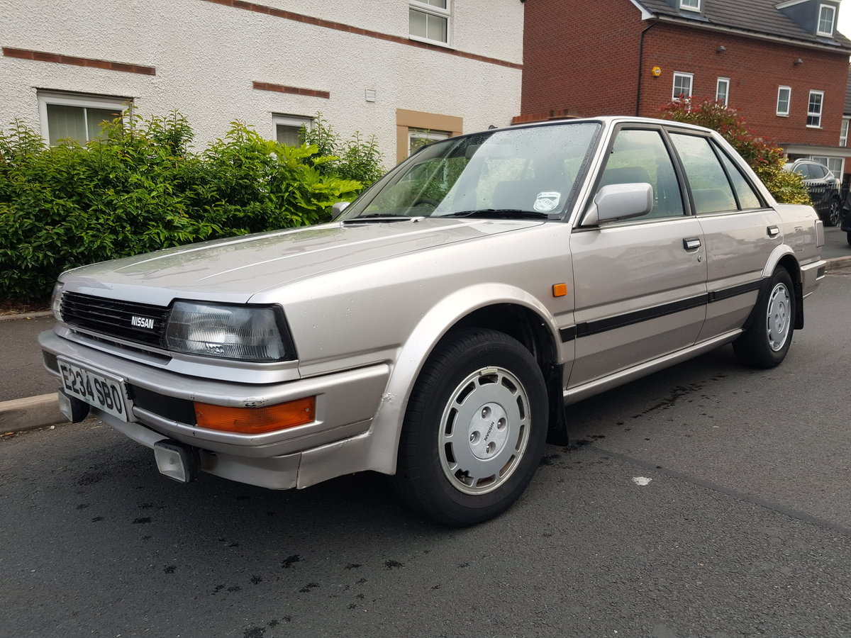 1998 1988 Nissan Bluebird 2.0 Gsx Saloon For Sale (picture 2 of 6)