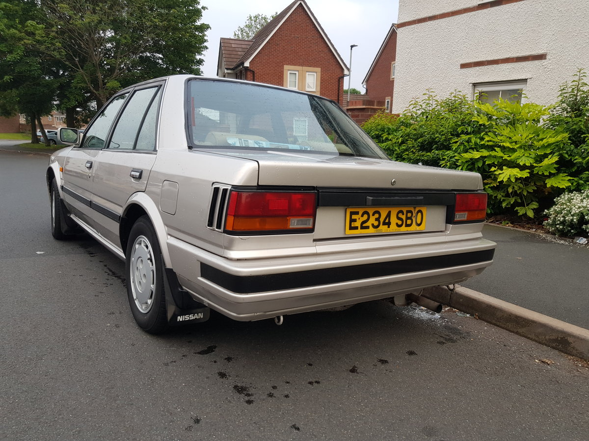 1998 1988 Nissan Bluebird 2.0 Gsx Saloon For Sale (picture 4 of 6)