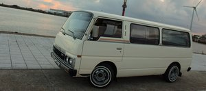 1987 Stunning Nissan Urvan 'executive Sleeper' LHD For Sale