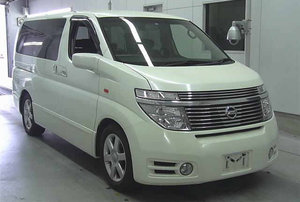 2004 NISSAN ELGRAND 3.5 AUTOMATIC 4X4 8 SEATER CAMPER