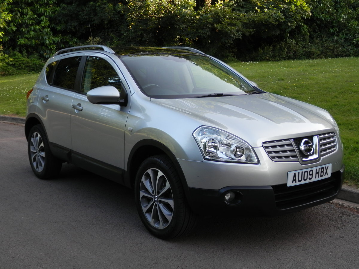 2009 Nissan Qashqai N-tec.. Auto.. Hi Spec.. Bargain..  SOLD (picture 1 of 6)