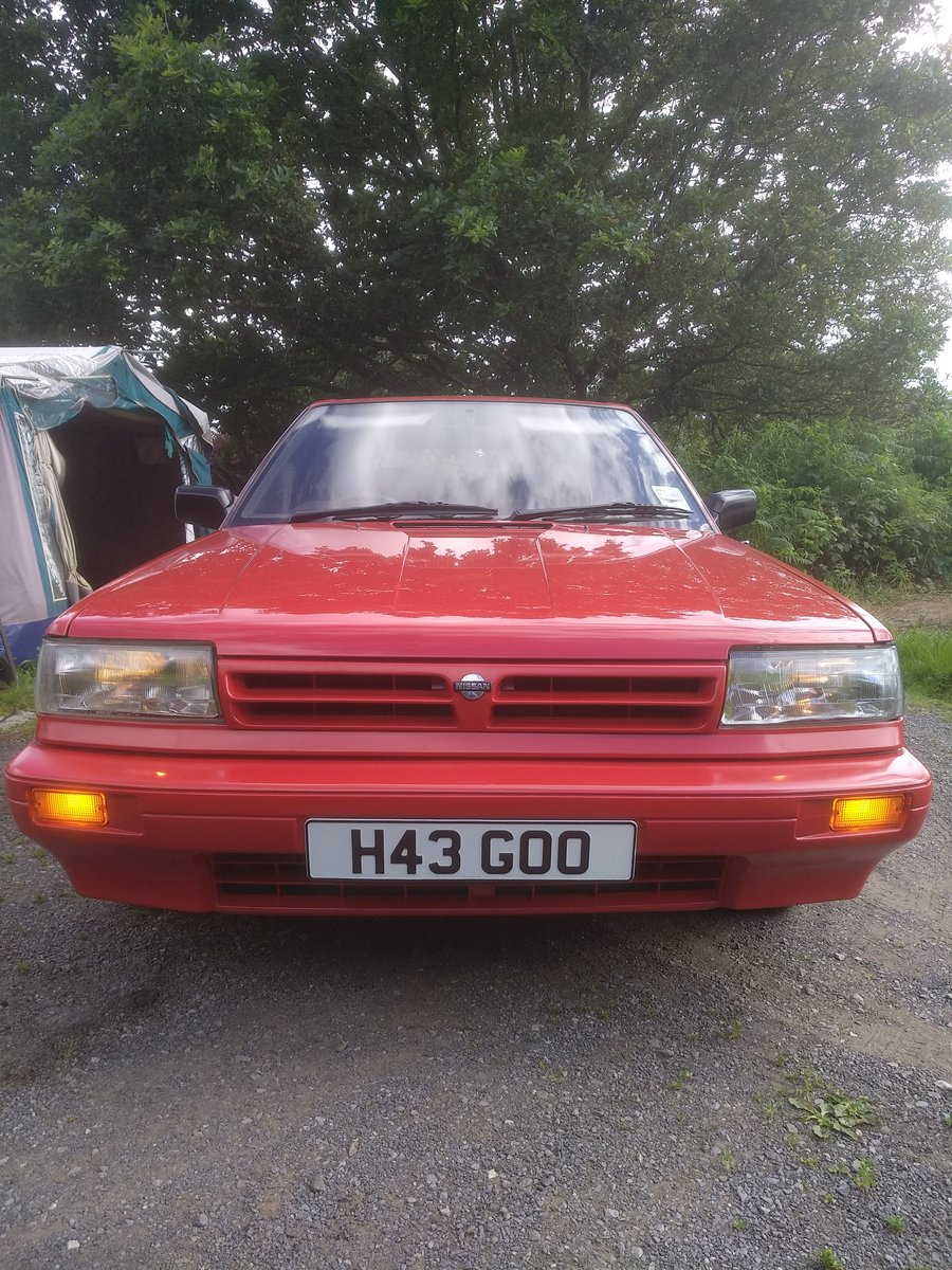 1990 Nissan bluebird 1.8 GS Automatic!! For Sale (picture 1 of 6)