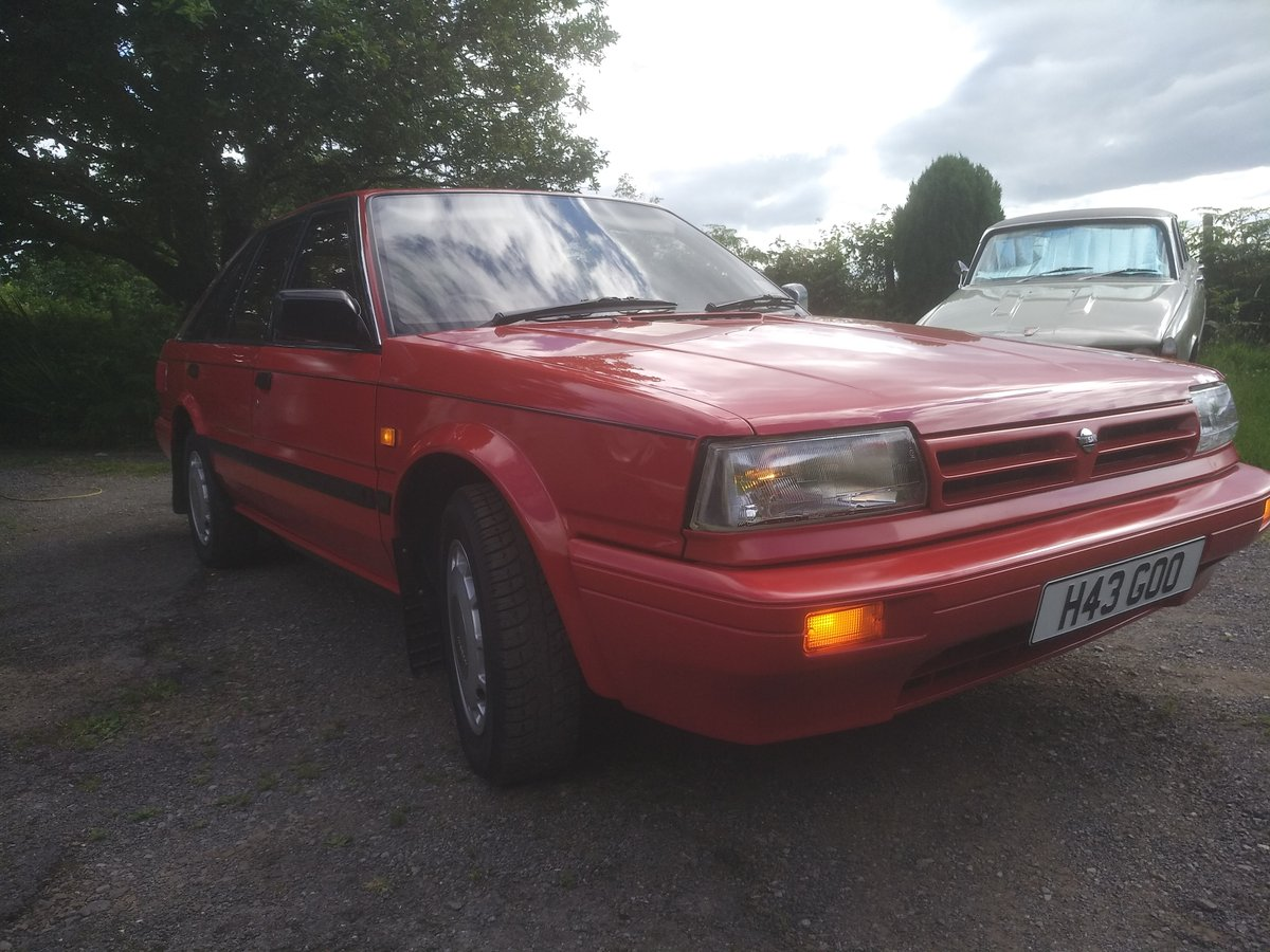 1990 Nissan bluebird 1.8 GS Automatic!! For Sale (picture 2 of 6)