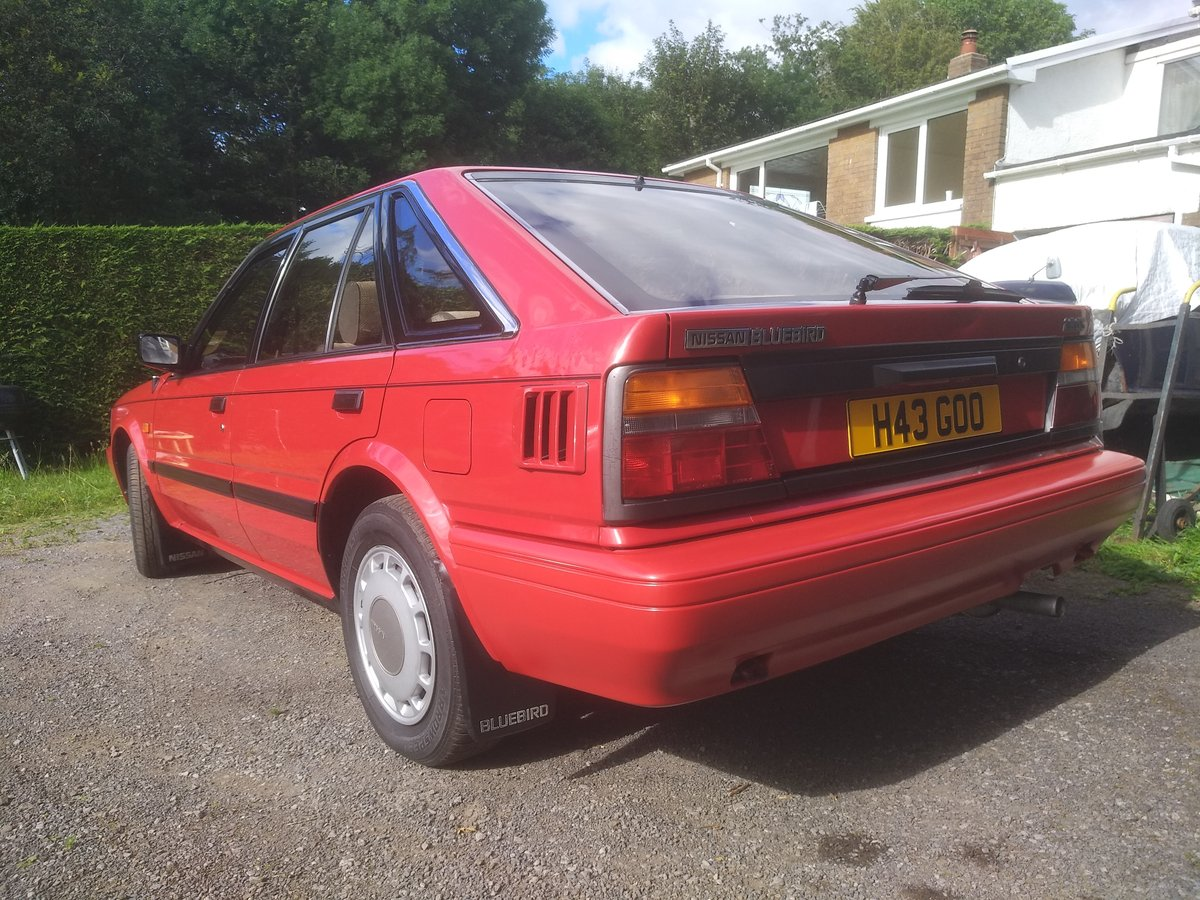 1990 Nissan bluebird 1.8 GS Automatic!! For Sale (picture 4 of 6)