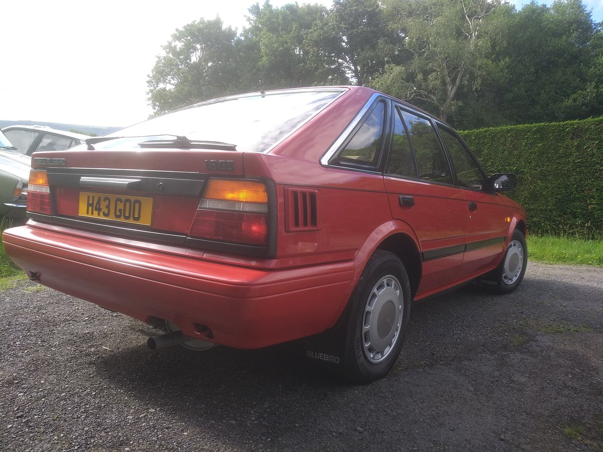 1990 Nissan bluebird 1.8 GS Automatic!! For Sale (picture 5 of 6)