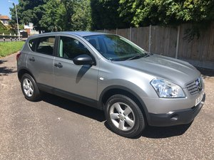 2008/58 nissan qashqai 1.6 visia 5 door in silver  For Sale