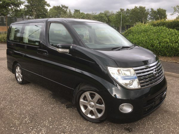 2006 NISSAN ELGRAND HIGHWAY STAR AUTO 3.5 8 SEATS For Sale (picture 1 of 6)