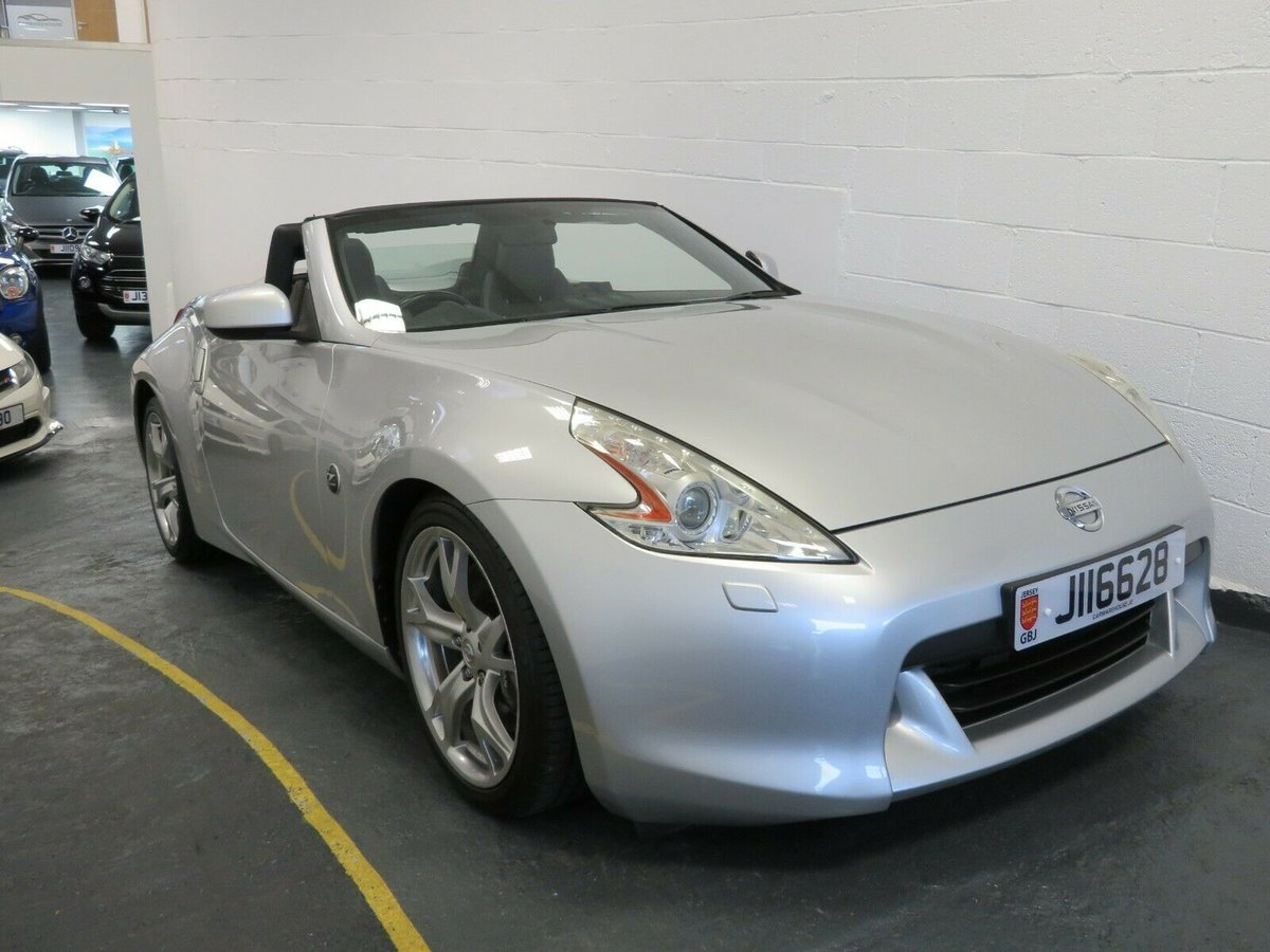 2010 Nissan 370Z GT Roadster 31,900mile Jersey car For Sale (picture 1 of 6)