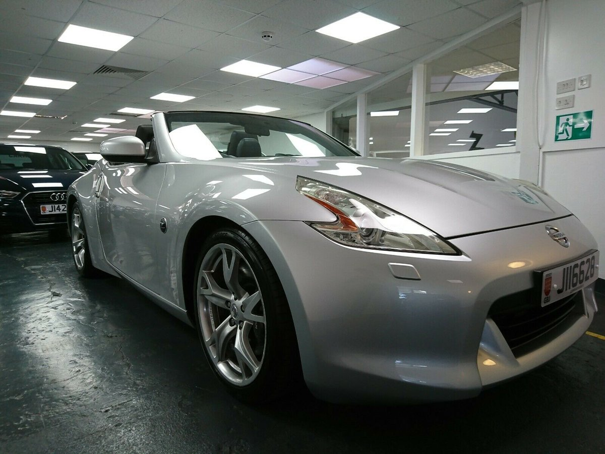 2010 Nissan 370Z GT Roadster 31,900mile Jersey car For Sale (picture 6 of 6)