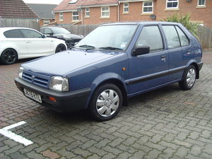 1991 Micra 5 door Superb/Low Mileage/One main owner For Sale
