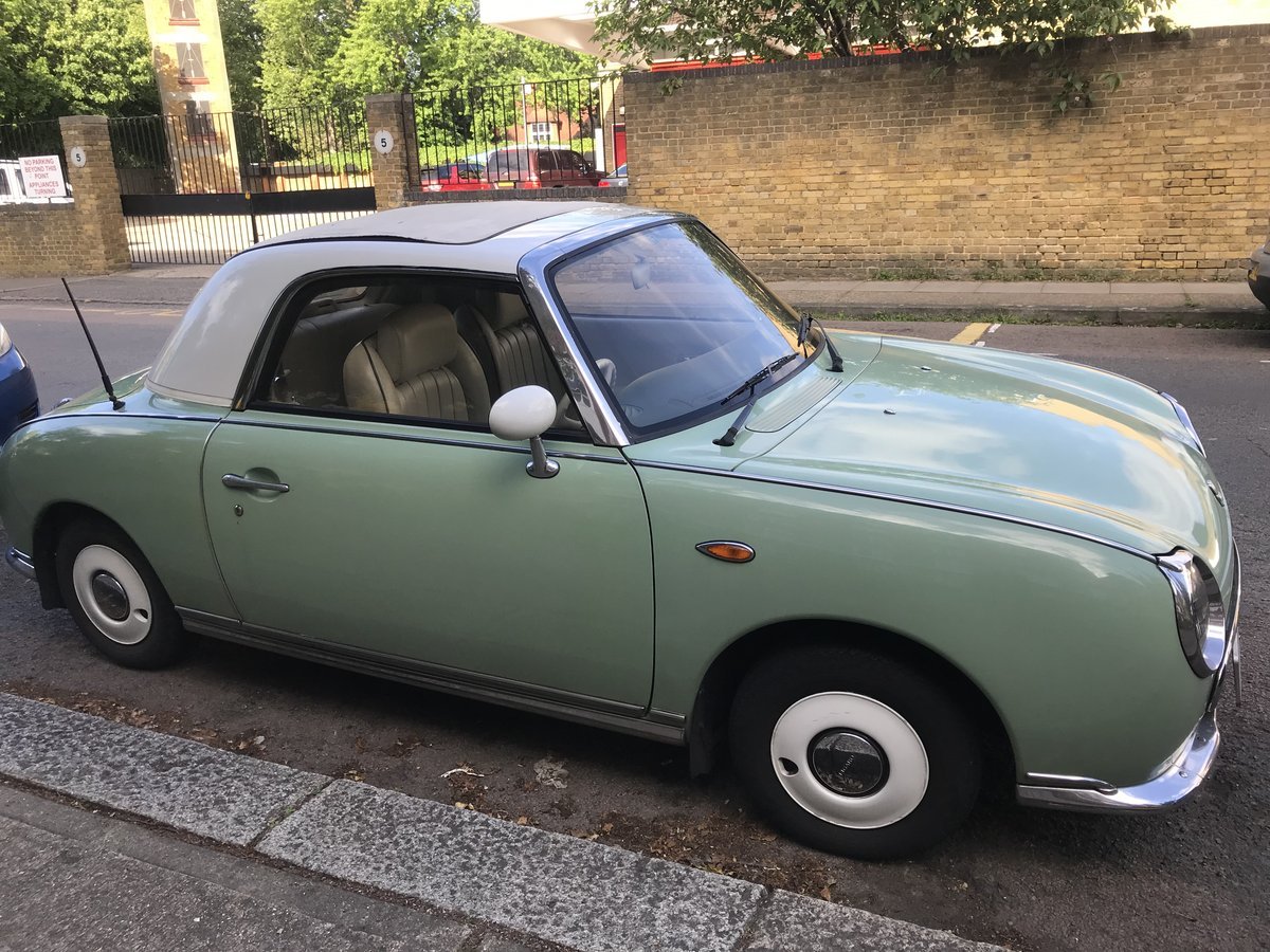 1991 Nissan Figaro 1.0 Turbo Classic Convertible For Sale (picture 1 of 6)
