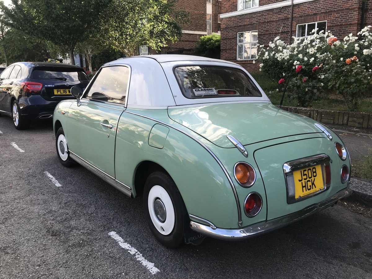1991 Nissan Figaro 1.0 Turbo Classic Convertible For Sale (picture 3 of 6)