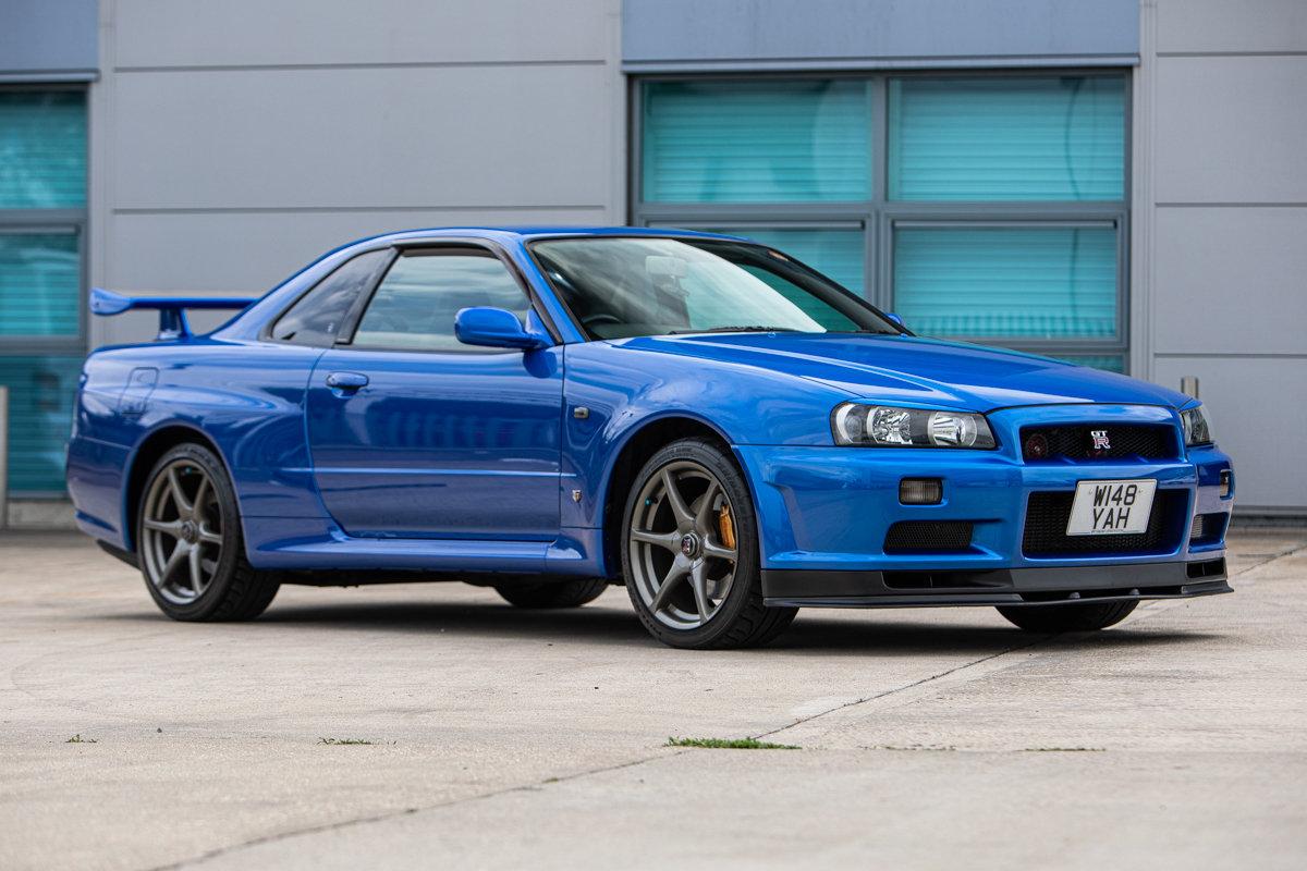 2000 Nissan Skyline Gt R V Spec Lot 665 Est 30 40 000 For Sale By