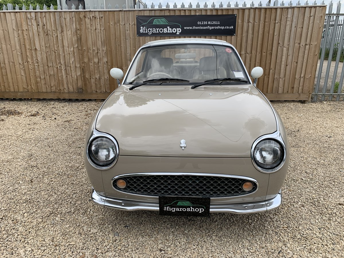 1992 Ultimate Topaz Mist Nissan Figaro For Sale (picture 1 of 4)