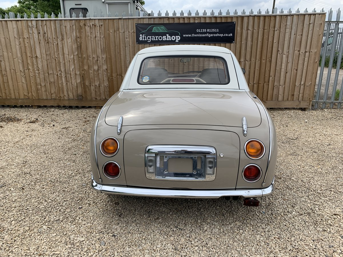 1992 Ultimate Topaz Mist Nissan Figaro For Sale (picture 2 of 4)
