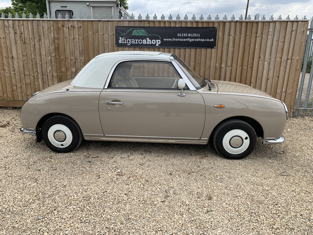 1992 Ultimate Topaz Mist Nissan Figaro For Sale (picture 3 of 4)