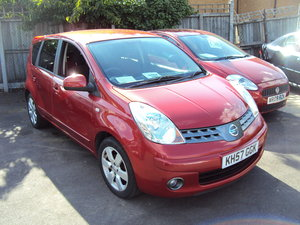 2007 Nissan Note Acenta R – 1.4 Petrol – Nice Spec – With Service For Sale