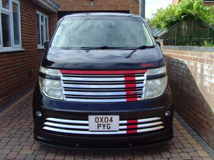 2004 Rare model Nissan Elgrand Rider 3500cc For Sale
