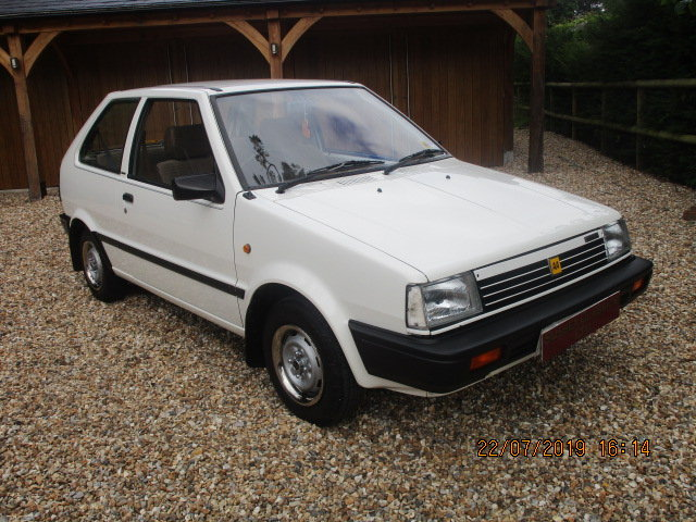 1986 Nissan Micra Colette K10 1000cc (Only 25000 Miles) SOLD (picture 1 of 6)