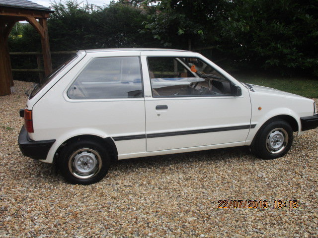 1986 Nissan Micra Colette K10 1000cc (Only 25000 Miles) SOLD (picture 2 of 6)