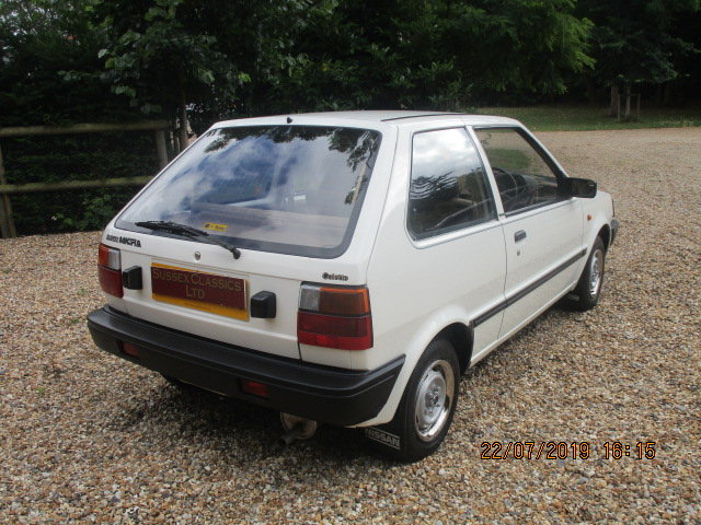 1986 Nissan Micra Colette K10 1000cc (Only 25000 Miles) SOLD (picture 3 of 6)