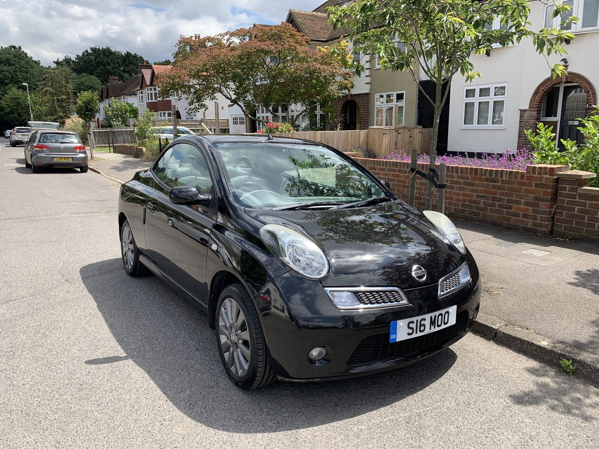 2008 Top spec. Nissan Micra, low miles, FSH, 2 owners For Sale (picture 1 of 6)