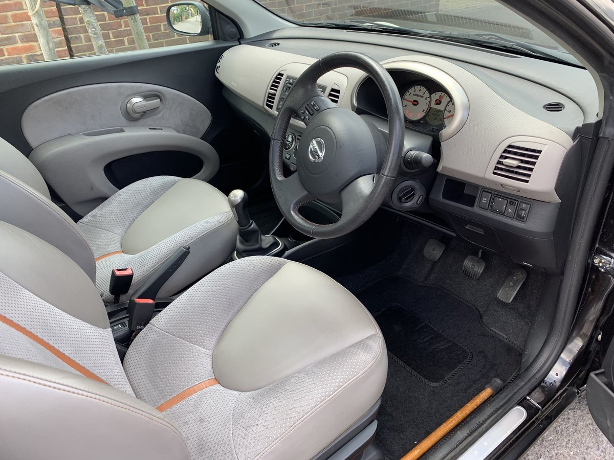 2008 Top spec. Nissan Micra, low miles, FSH, 2 owners For Sale (picture 3 of 6)