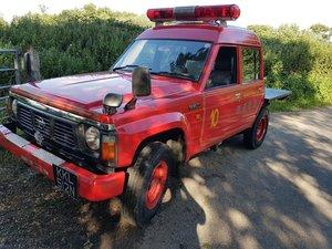 1995 Nissan Patrol Safari Ex Fire truck 17200KM
