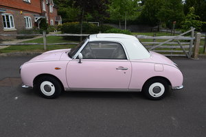 1991 Nissan Figaro 62k in Pink For Sale