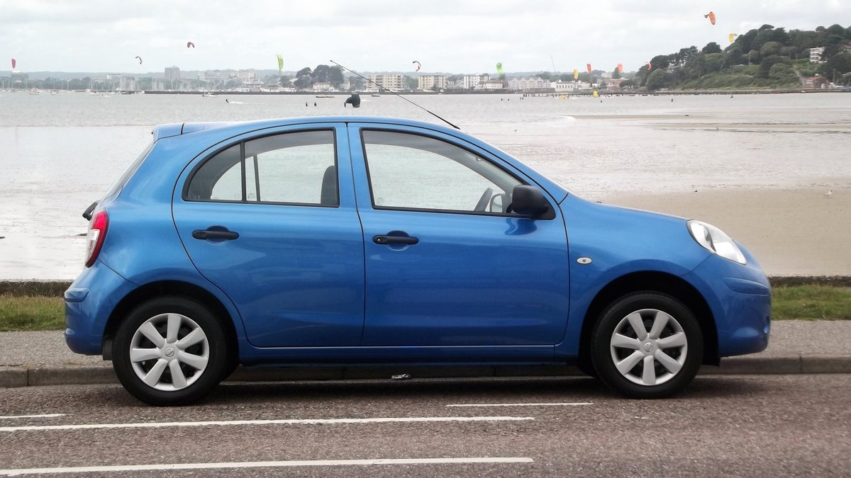 2012 NISSAN MICRA VISIA PURE EDT 1.2 5 DR HATCH 20000 miles For Sale (picture 2 of 6)