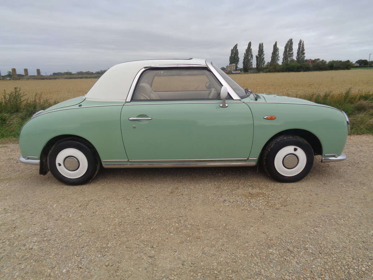 1991 Nissan figaro 1.0 turbo auto - very clean example  For Sale (picture 2 of 6)