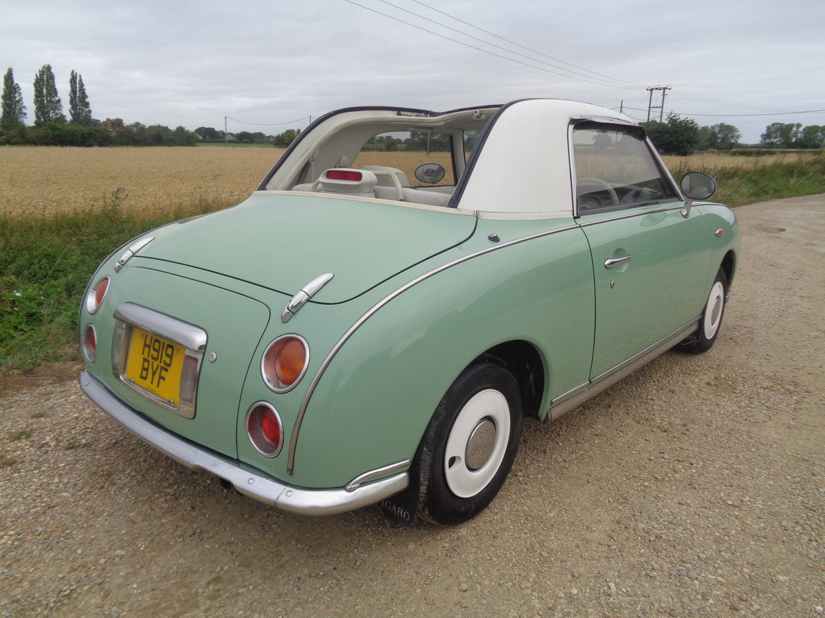 1991 Nissan figaro 1.0 turbo auto - very clean example  For Sale (picture 3 of 6)