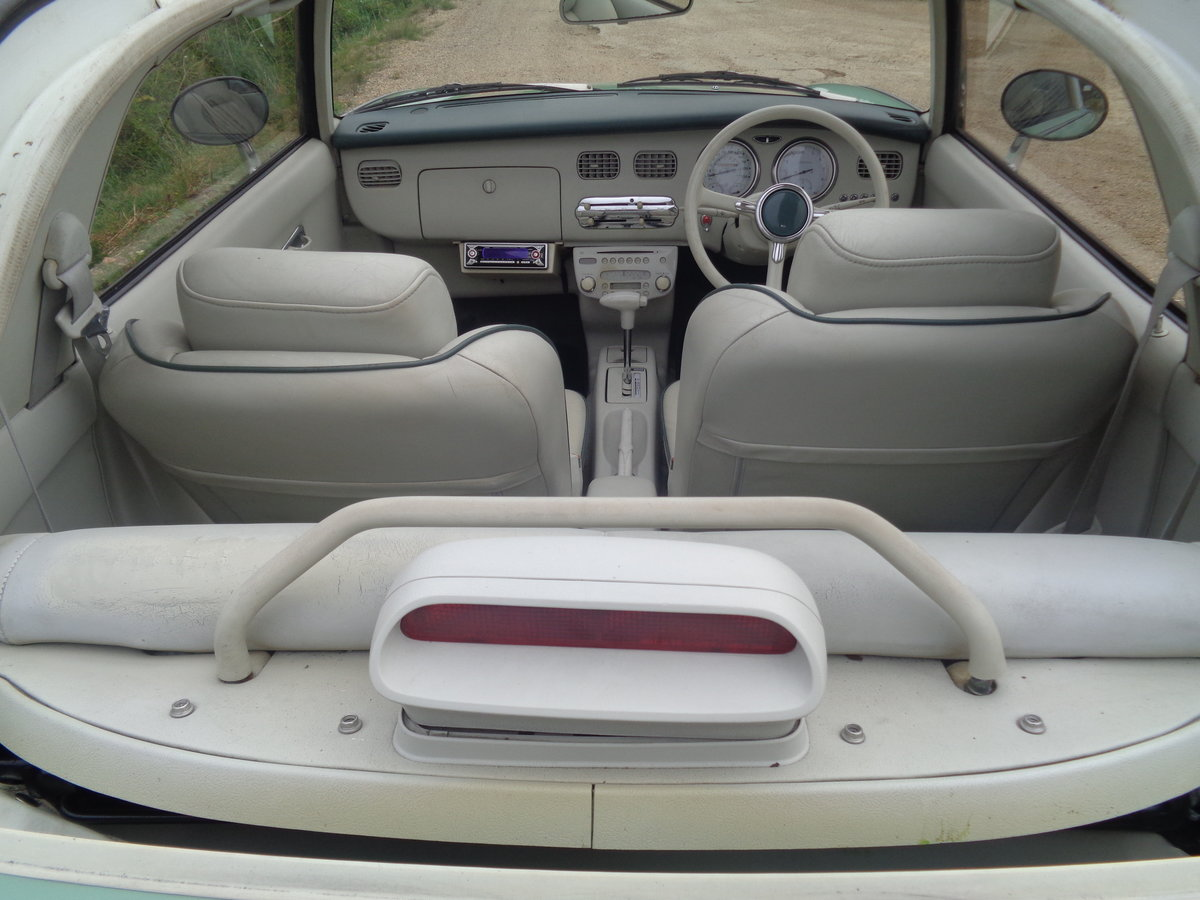 1991 Nissan figaro 1.0 turbo auto - very clean example  For Sale (picture 4 of 6)