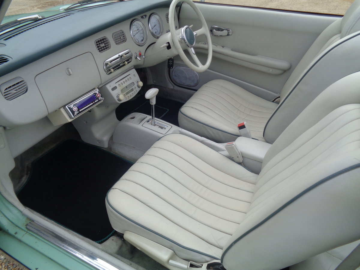 1991 Nissan figaro 1.0 turbo auto - very clean example  For Sale (picture 5 of 6)