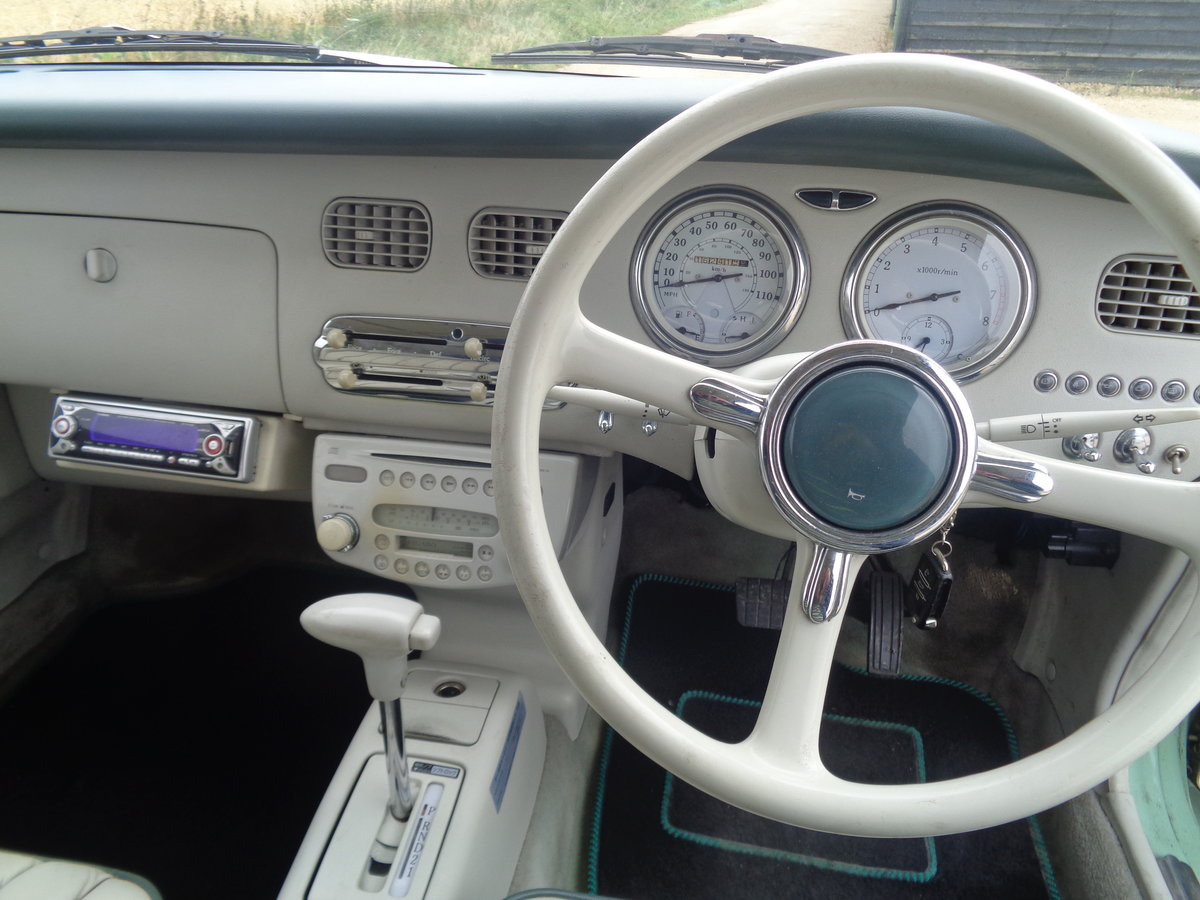 1991 Nissan figaro 1.0 turbo auto - very clean example  For Sale (picture 6 of 6)
