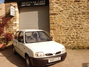 1997 R NISSAN MICRA 1.0 SHAPE 15481 MILES. 1 LADY OWNER. For Sale